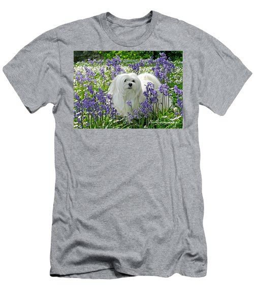 Snowdrop In The Bluebell Woods Men's T-Shirt (Athletic Fit)