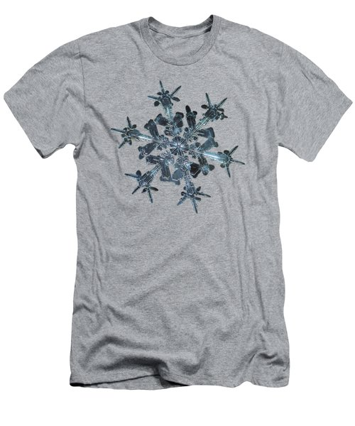 Snowflake Photo - Starlight II Men's T-Shirt (Slim Fit) by Alexey Kljatov