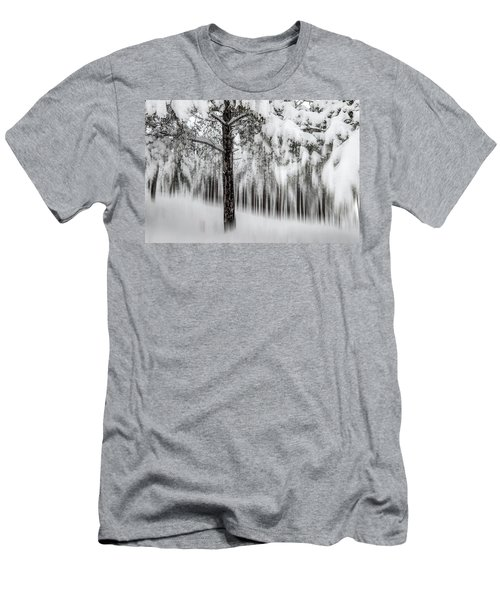 Snowy-2 Men's T-Shirt (Athletic Fit)