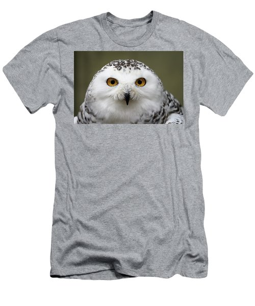Snowy Eyes Men's T-Shirt (Athletic Fit)
