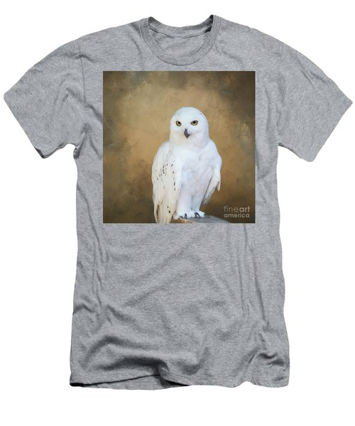 Snowy White Men's T-Shirt (Athletic Fit)
