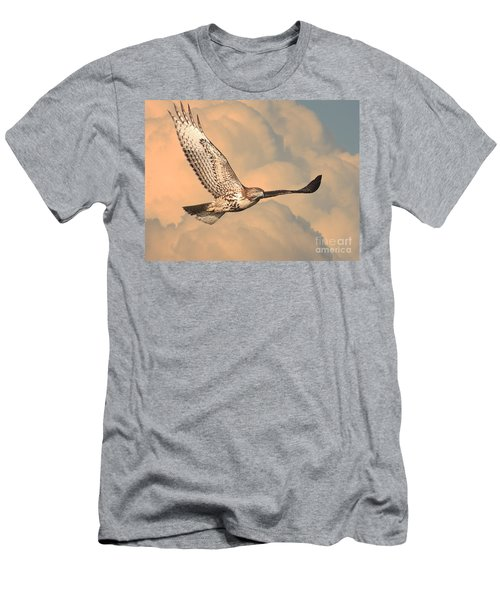 Soaring Hawk Men's T-Shirt (Athletic Fit)