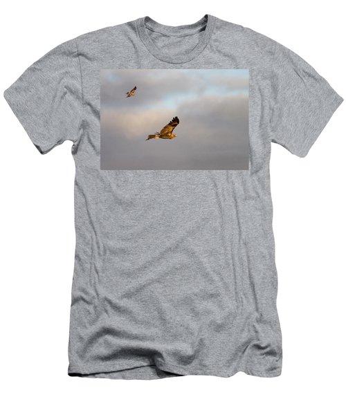 Soaring Pair Men's T-Shirt (Athletic Fit)