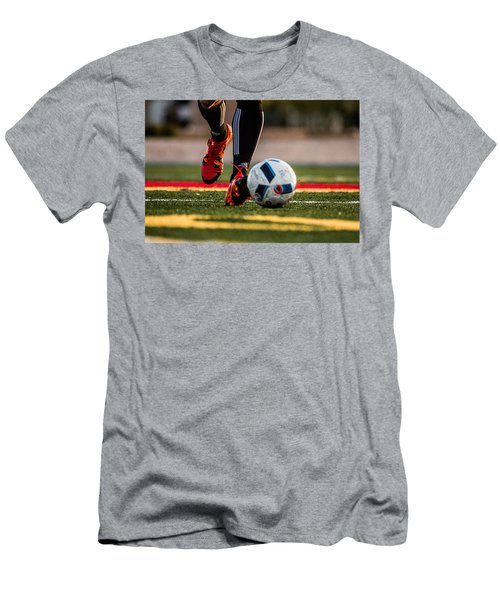 Soccer Men's T-Shirt (Athletic Fit)