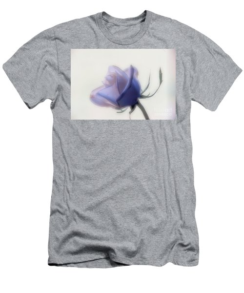 Soft Focus Rose Men's T-Shirt (Athletic Fit)