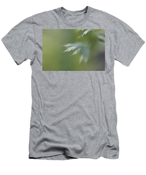 Soft Green Men's T-Shirt (Athletic Fit)