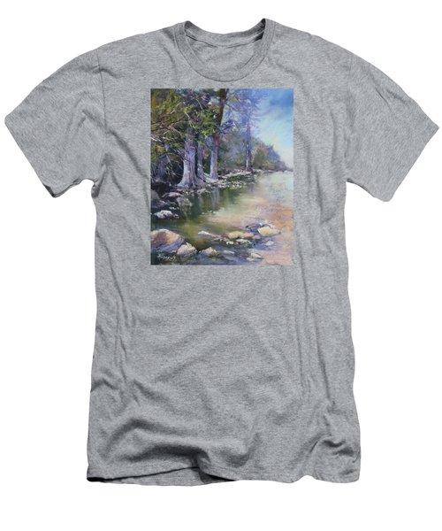 Soft Light On The Pedernales Men's T-Shirt (Athletic Fit)