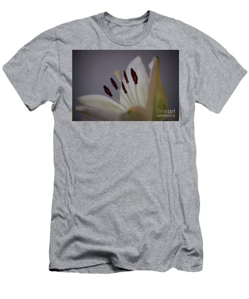 Soft Lily Men's T-Shirt (Slim Fit) by Roberta Byram