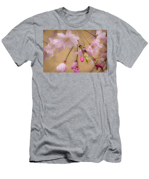 Soft Spring Blossoms Men's T-Shirt (Athletic Fit)