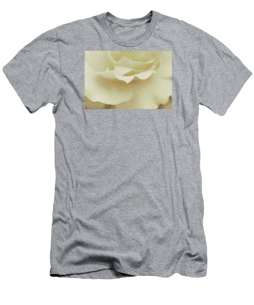 Men's T-Shirt (Slim Fit) featuring the photograph Soft Tender Rose by The Art Of Marilyn Ridoutt-Greene