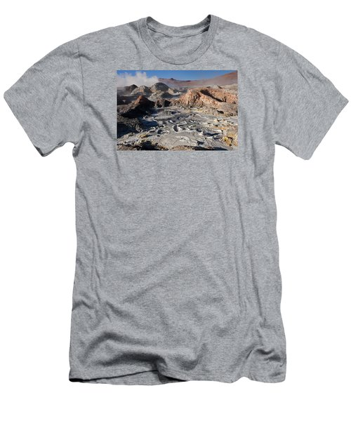Sol De Manana Geothermal Field  Men's T-Shirt (Athletic Fit)