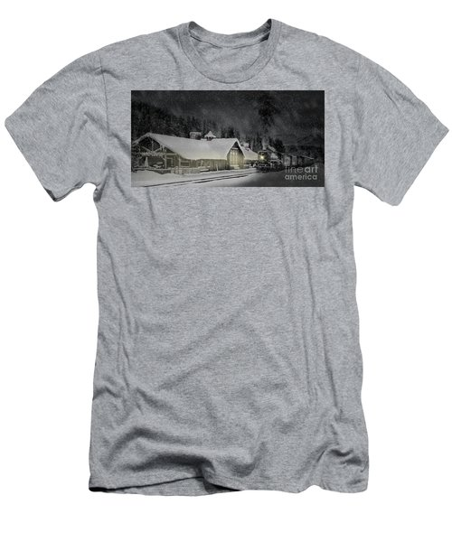 Solace From The Storm Men's T-Shirt (Slim Fit) by Brad Allen Fine Art