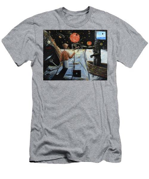 Solar Broadcast -transition- Men's T-Shirt (Athletic Fit)