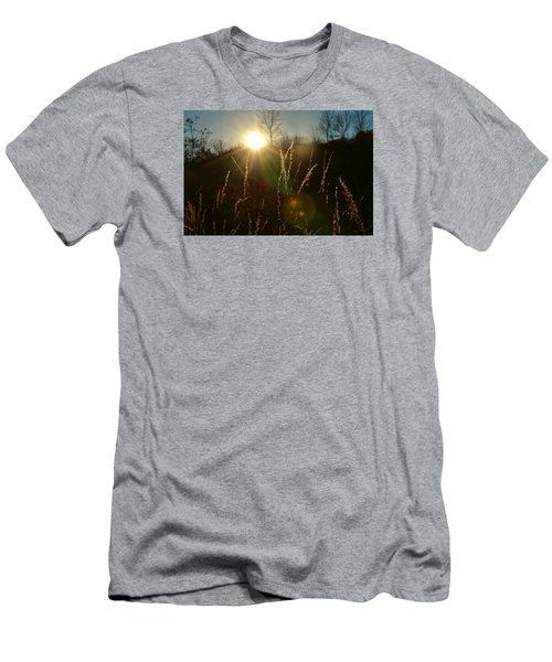 Solar Flares Men's T-Shirt (Slim Fit) by Nikki McInnes