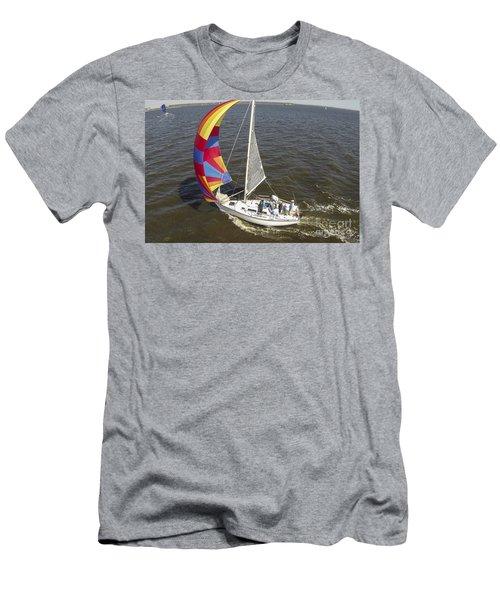 Sole Vento Charleston South Carolina Men's T-Shirt (Athletic Fit)