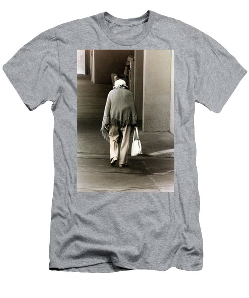 Solitary Lady Men's T-Shirt (Slim Fit) by Don Gradner