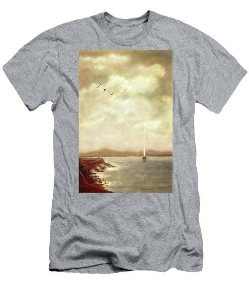 Solitary Sailor Men's T-Shirt (Athletic Fit)