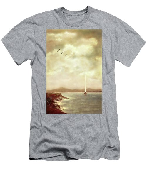 Solitary Sailor Men's T-Shirt (Athletic Fit)