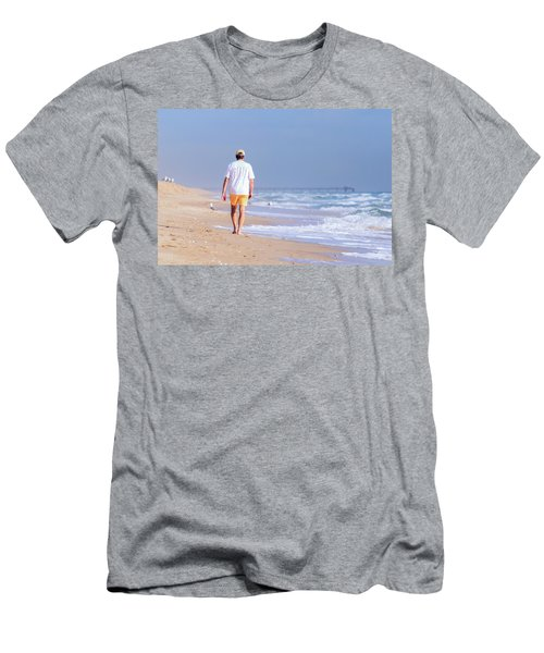 Solitude Men's T-Shirt (Slim Fit) by Keith Armstrong