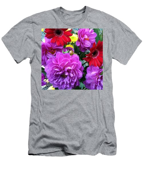 Some Fall Flowers For Inspiration! Men's T-Shirt (Athletic Fit)