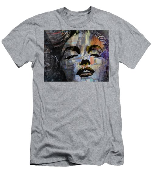 Men's T-Shirt (Slim Fit) featuring the painting Some Like It Hot Retro by Paul Lovering