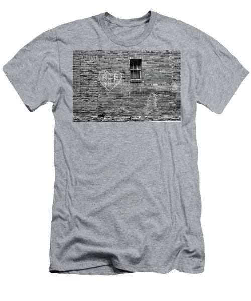 Men's T-Shirt (Athletic Fit) featuring the photograph Somebodie's In Love by Monte Stevens