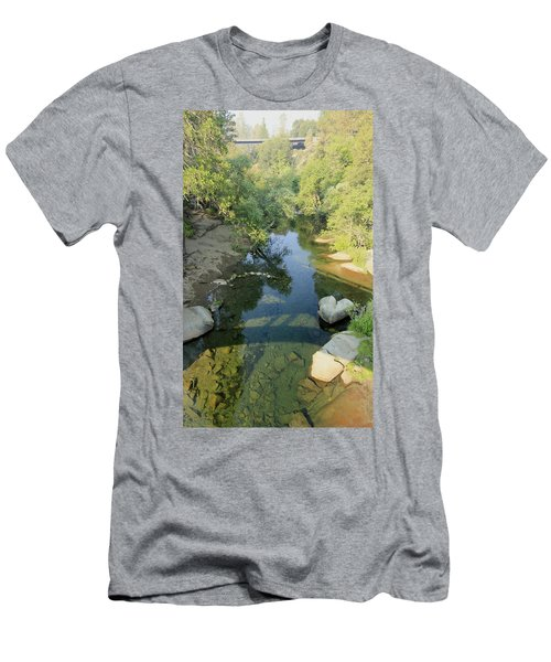 Men's T-Shirt (Athletic Fit) featuring the photograph Somerset Cosumnes by Sean Sarsfield