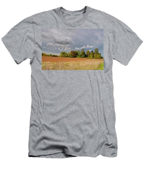Men's T-Shirt (Slim Fit) featuring the photograph Somerset Sky 3069 by Guy Whiteley