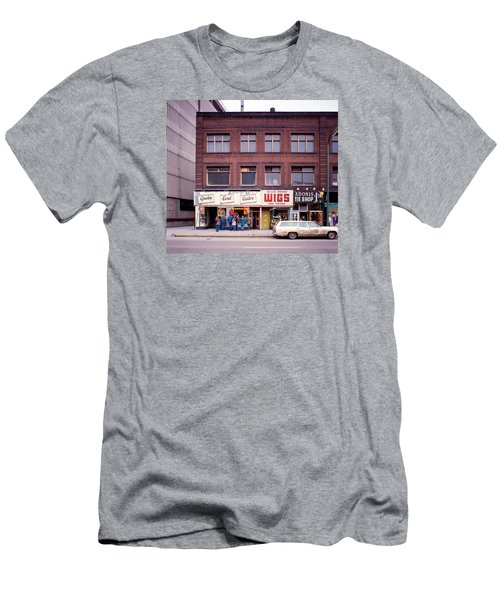 Something's Going On At The Greeting Card Center. Men's T-Shirt (Athletic Fit)