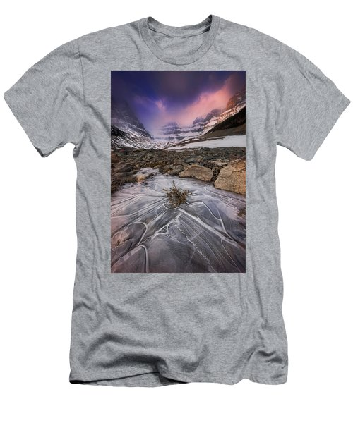 Somewhere In The Canadian Rockies Men's T-Shirt (Athletic Fit)