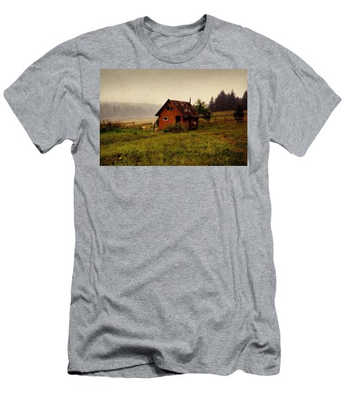 Somewhere In The Countryside. Russia Men's T-Shirt (Athletic Fit)