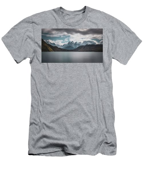 Somewhere Over The Mountain Range Men's T-Shirt (Athletic Fit)