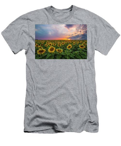 Men's T-Shirt (Athletic Fit) featuring the photograph Somewhere Sunny  by Aaron J Groen