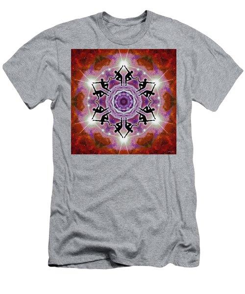 Men's T-Shirt (Athletic Fit) featuring the digital art Sonic Galaxies by Derek Gedney