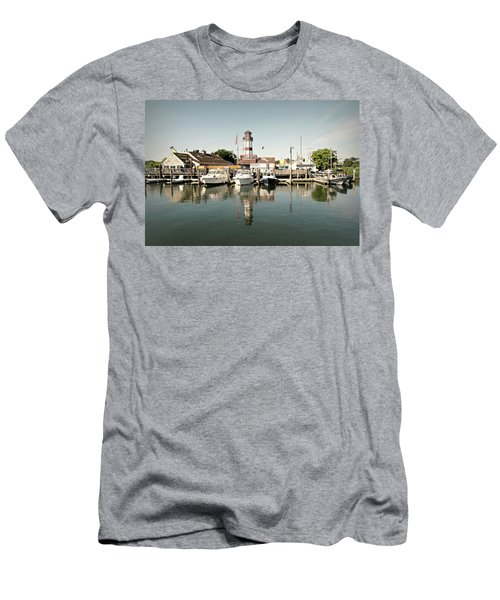 Sono Seaport Men's T-Shirt (Slim Fit) by Diana Angstadt