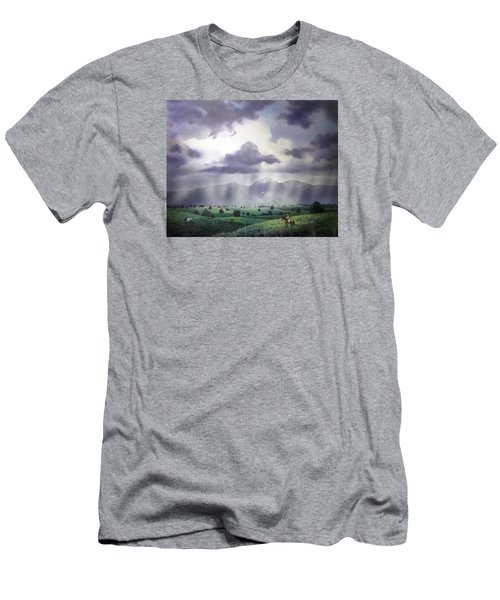 Empire Ranch Sonoita Arizona Men's T-Shirt (Athletic Fit)