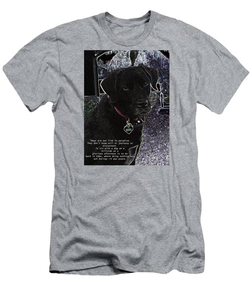 Sophie Men's T-Shirt (Slim Fit) by Charles Shoup