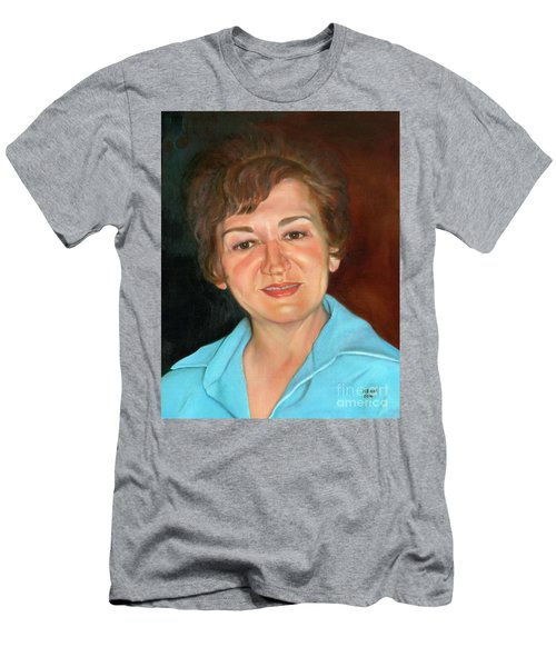 Men's T-Shirt (Athletic Fit) featuring the painting Sophie by Marlene Book