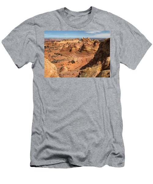 South Coyote Buttes Men's T-Shirt (Athletic Fit)