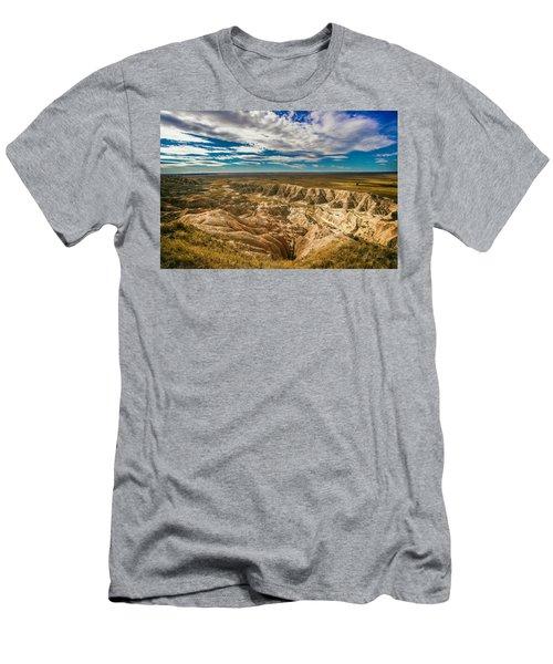 South Dakota Bad Lands.... Men's T-Shirt (Athletic Fit)