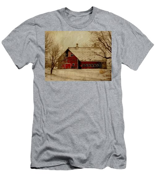 South Dakota Barn Men's T-Shirt (Athletic Fit)