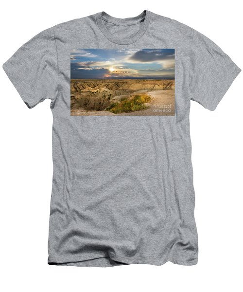 South Dakota Sunrise Men's T-Shirt (Athletic Fit)