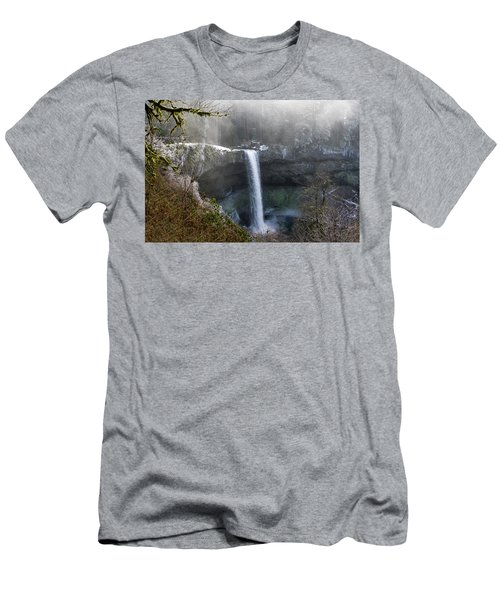 South Falls Shroud Men's T-Shirt (Athletic Fit)