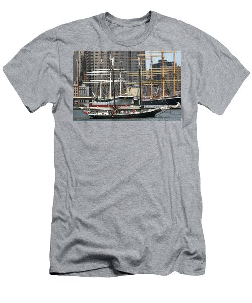 South Street Seaport Pioneer Men's T-Shirt (Athletic Fit)
