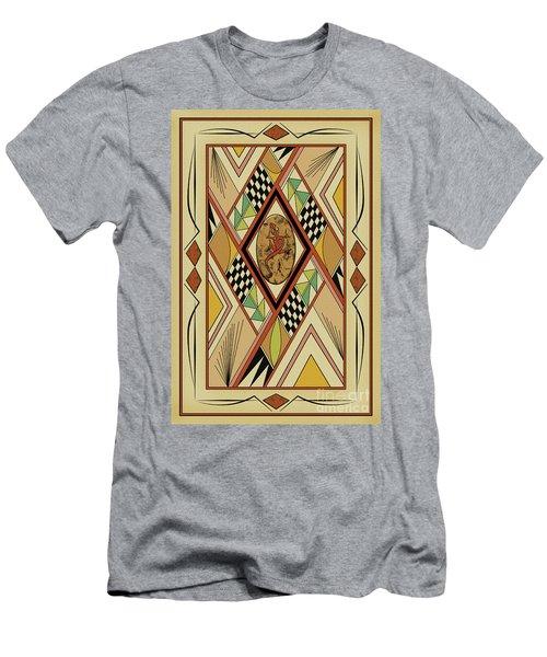 Southwest Lizard  Men's T-Shirt (Athletic Fit)