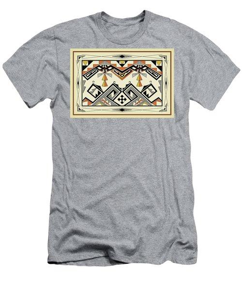 Southwest Pattern Men's T-Shirt (Athletic Fit)