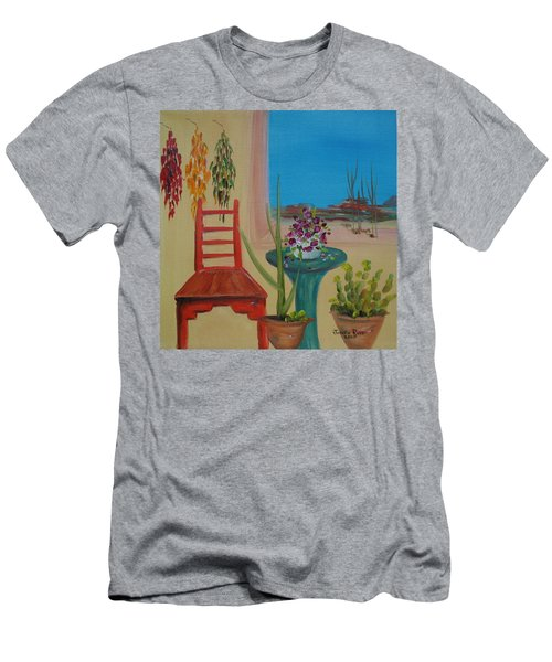 Southwestern 6 Men's T-Shirt (Slim Fit) by Judith Rhue