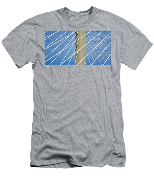 Span Men's T-Shirt (Slim Fit) by Martin Cline