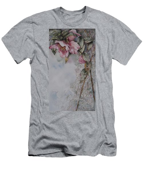 Spanish Camellias Men's T-Shirt (Athletic Fit)