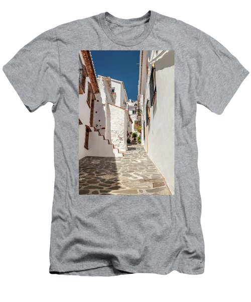 Spanish Street 1 Men's T-Shirt (Athletic Fit)